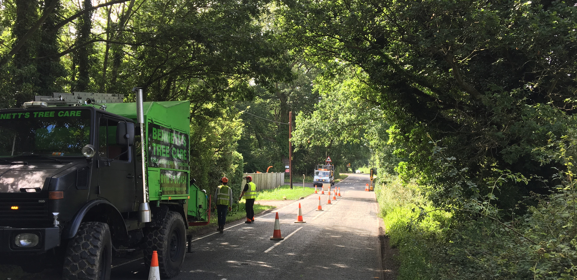 road side tree trimming in sindlesham