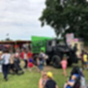 our unimog at the woodley The carnival i