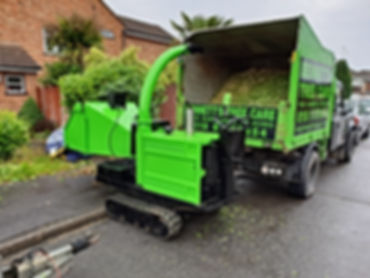 timberwolf woodchipper bennetts tree care