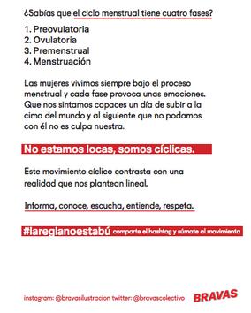 Flyer #lareglanoestabú