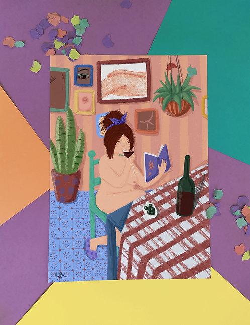 Viva el vino y las mujeres