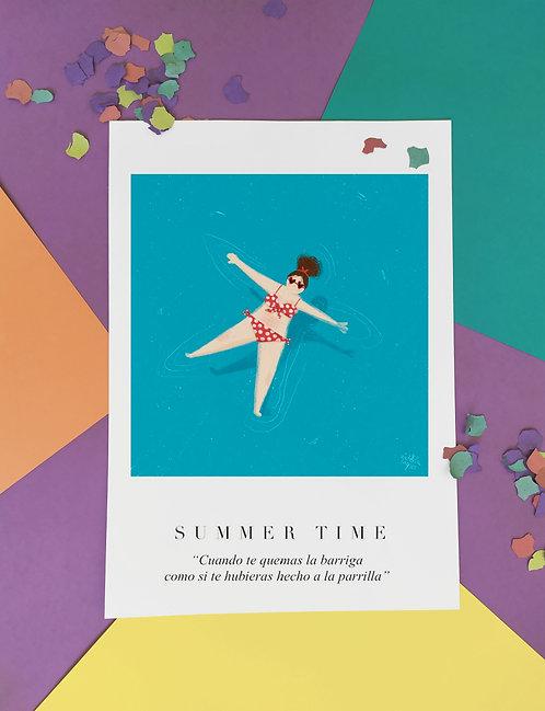 Summer Time. Pack 3 ilustraciones