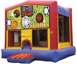 Sports Moon Bounce