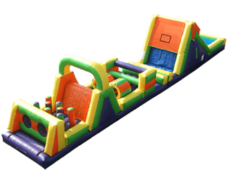 Extreme Obstacle Slide Combo