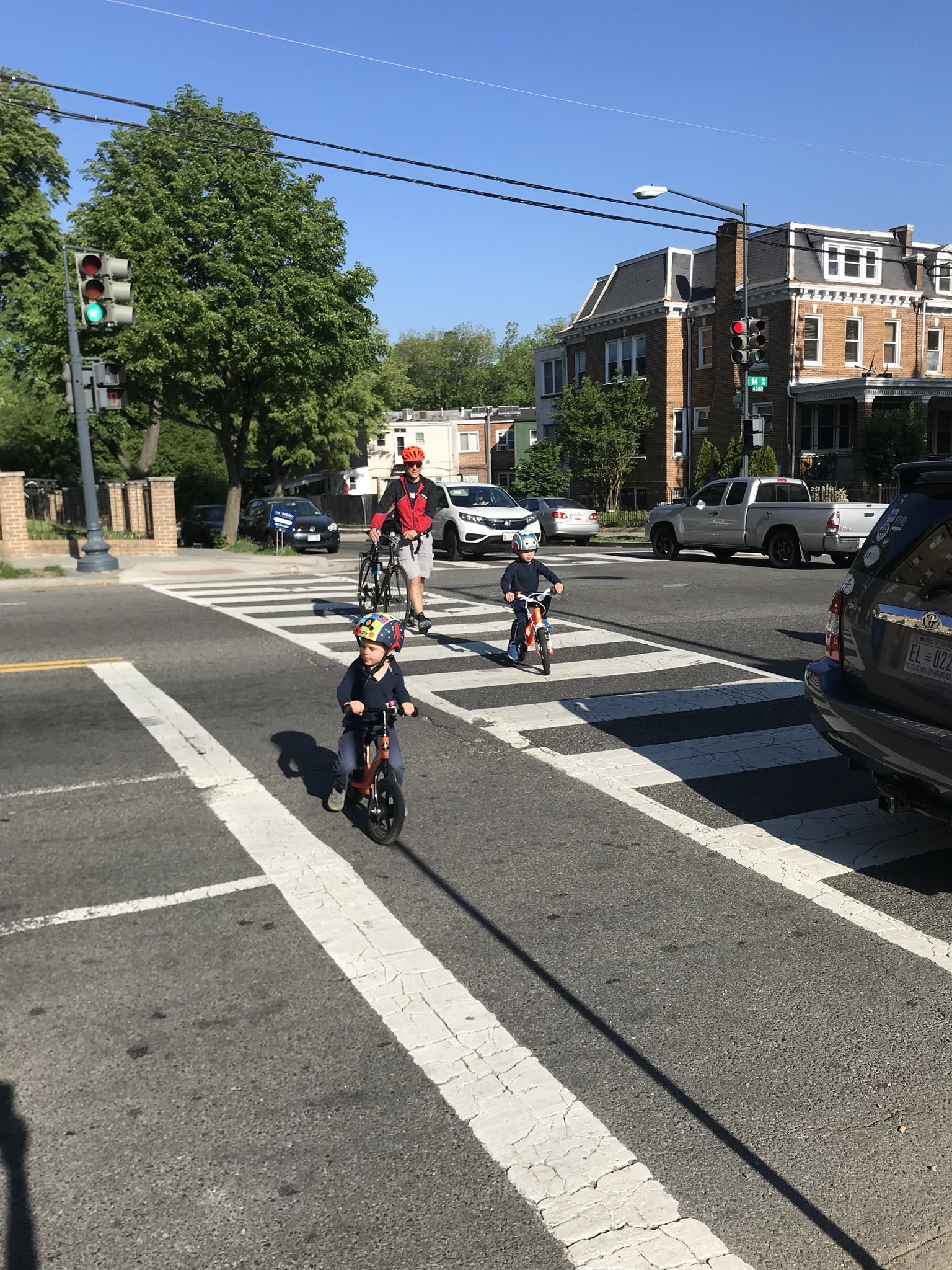 Walk & Bike to School Day