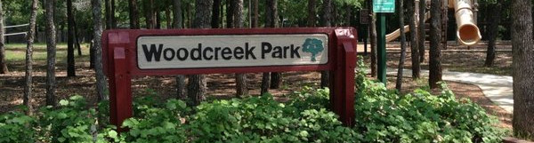 Woodcreek Park Sign