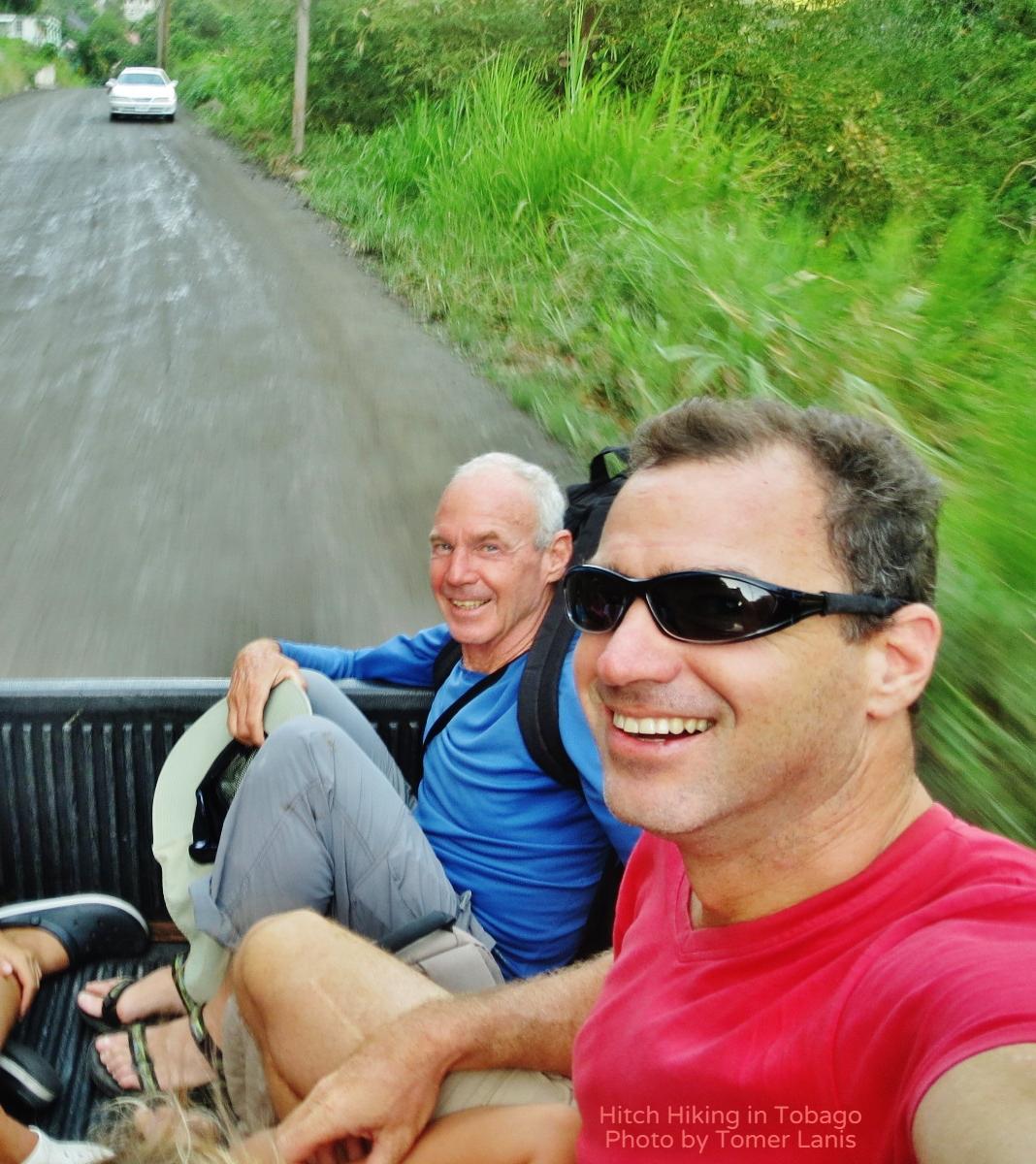 Hitchhiking in Tobago