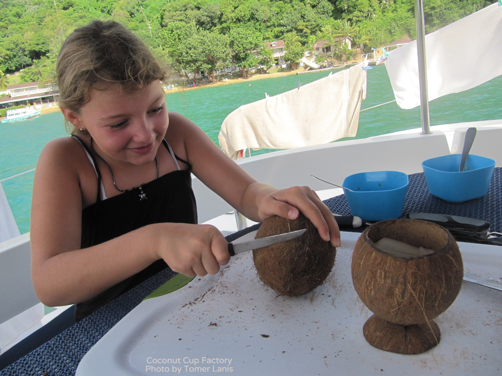 Crafting Coconut Cups
