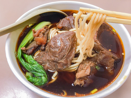 Beef stew noodle with soup