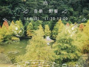 11/8 落羽松x音樂x野餐𝙇𝙚𝙩'𝙨 𝙂𝙤 𝙋𝙞𝙘𝙣𝙞𝙘