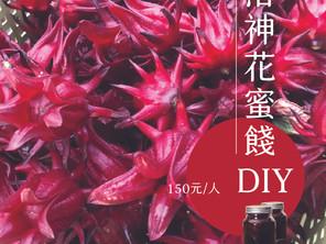 10/30~10/31洛神花蜜餞diy