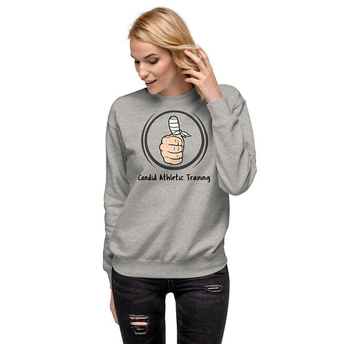 Candid Unisex Fleece Pullover