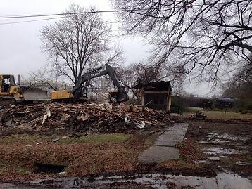 Buren Street Demolition.JPG