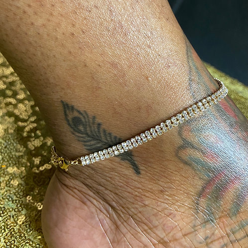 Double it Up Anklet