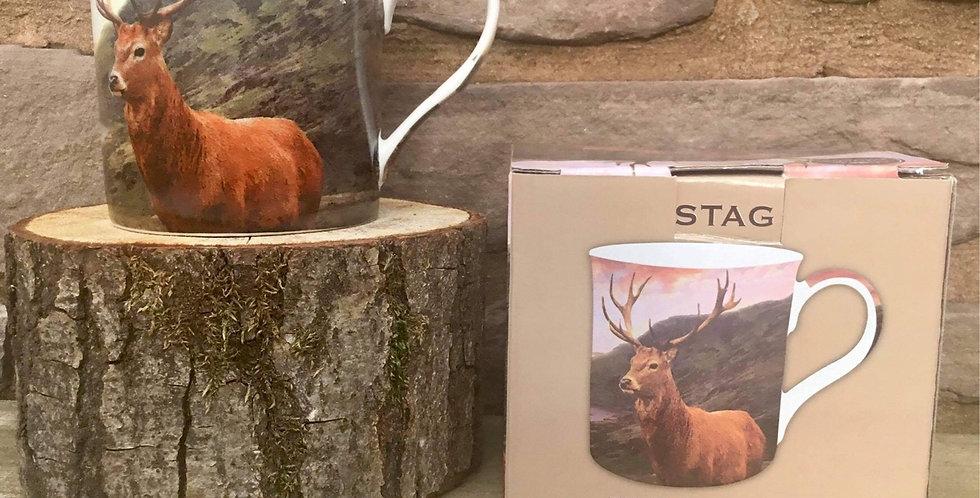 British Wildlife Stag mug