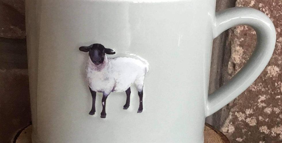 Ceramic Sheep Chunky Mug