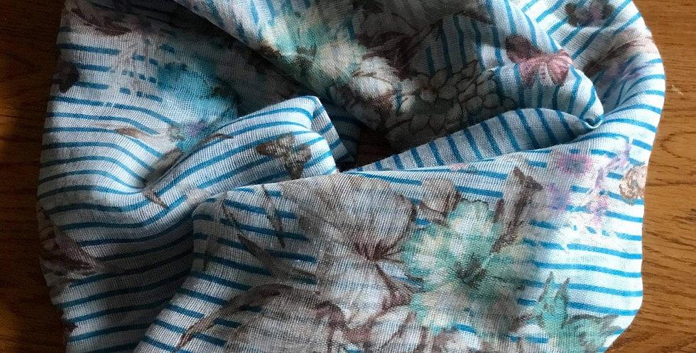 Light Blue Scarf by Poppy