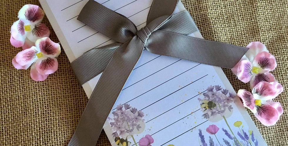 Magnetic Bees Shopping List Pad