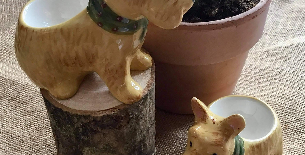 Doggy Egg Cup Set - Gift Boxed