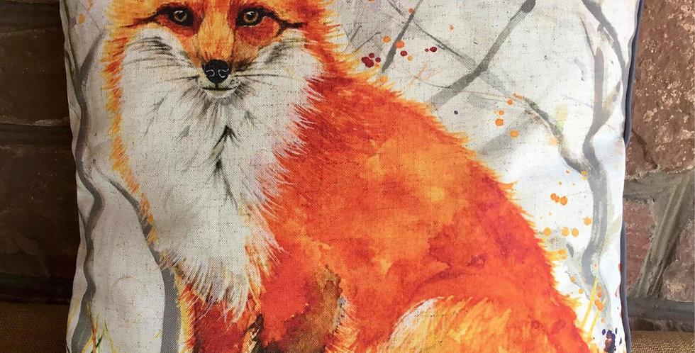 Fox Cushion 45x45