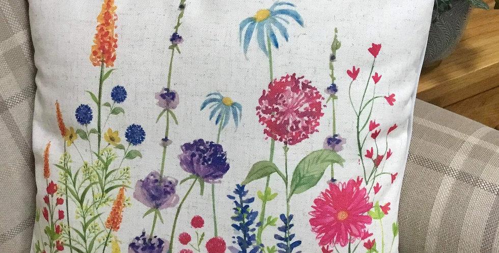 Flower Garden Cushion 45x45cm