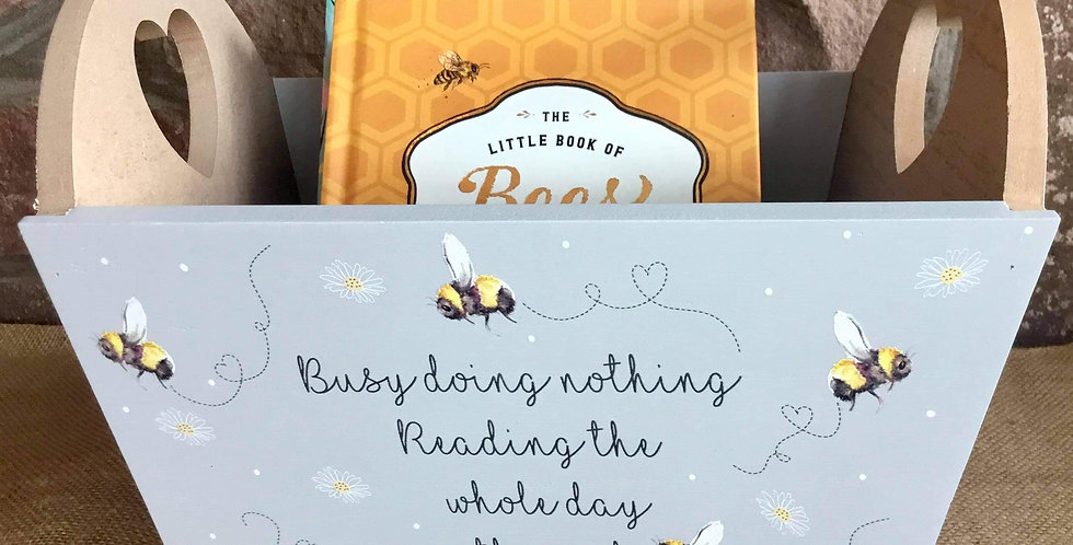 Busy Bees Book Crate (Books not part of the product)
