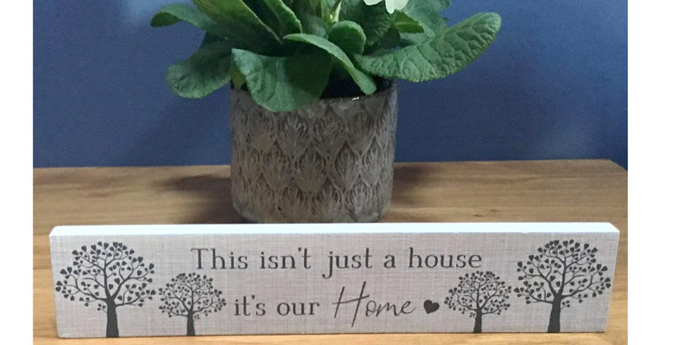 Family Tree Standing Plaque - This isn't just a house ...