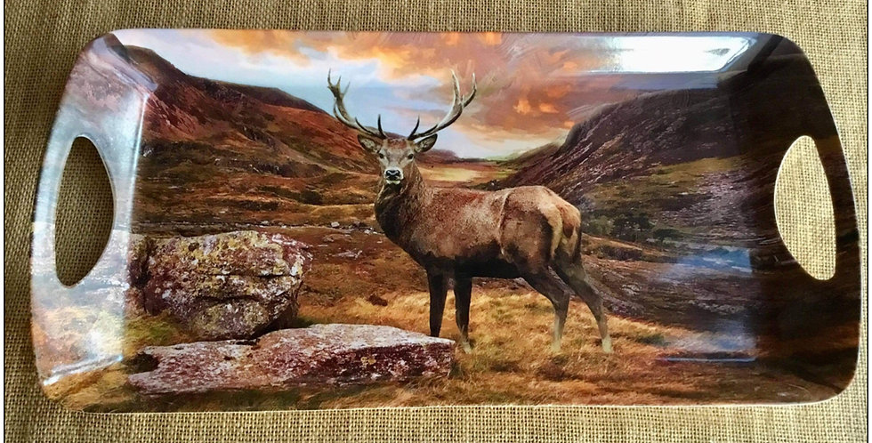 Highland Stag in Glen Sandwich Tray