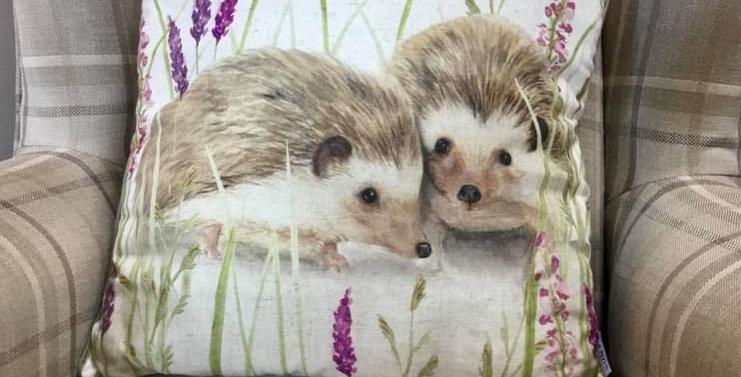 Happy Hedgehogs Cushion 45x45