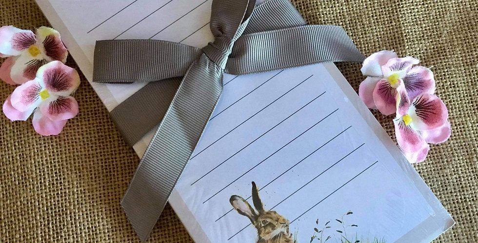 Magnetic Hare Shopping List Pad