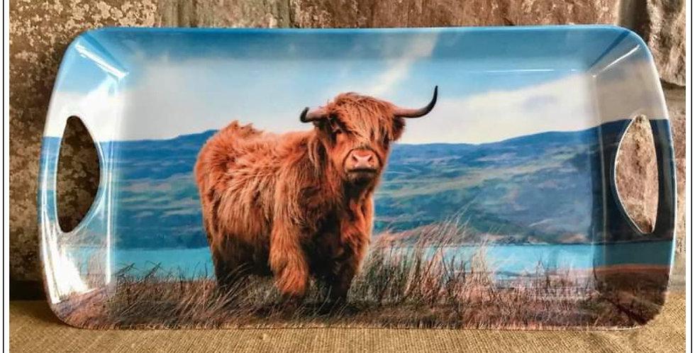 Highland Cow Sandwich Tray
