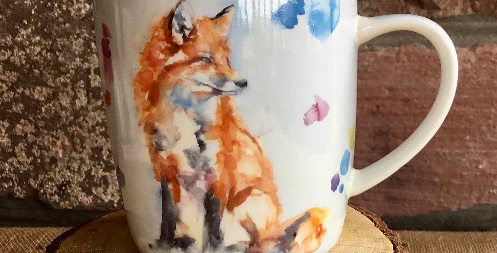Fox Country Life Design Mug
