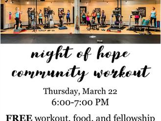 Night of Hope Community Workout