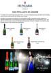 Les 5 types de vins de la gamme HUNGARIA