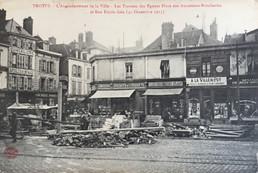 CPA LA VOSGIENNE 1915