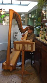 concertiste harpe Laurence Cléry