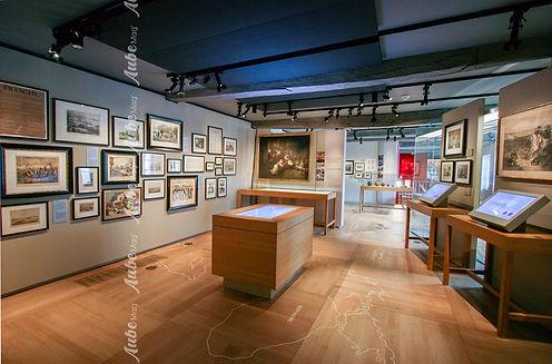SALLE 1ER ETAGE MUSEE NAPOLEON DE BRIENN