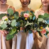 Bouquets de mariage Pimprenelle Troyes