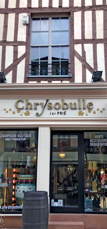 CHAMPAGNE PRIE BOUTIQUE CHRYSOBULLE TROY