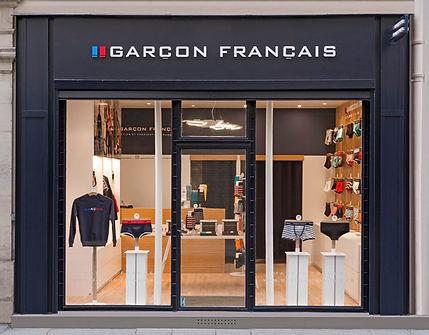FACADE BOUTIQUE GARCON FRANCAIS PARIS MA