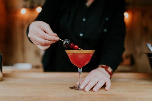 Tasty signature cocktails
