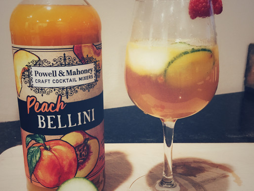 Raspberry Peach Zing Mocktail