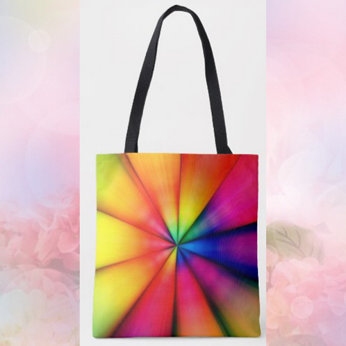 Rainbow Writing Totebag