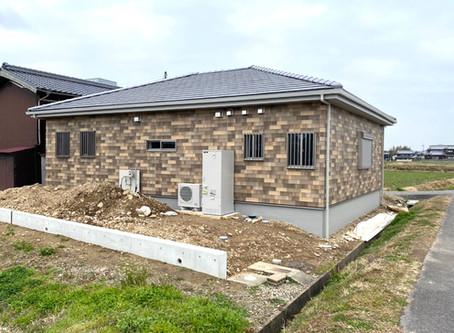 施工実績「のどかな平屋の家」追加しました
