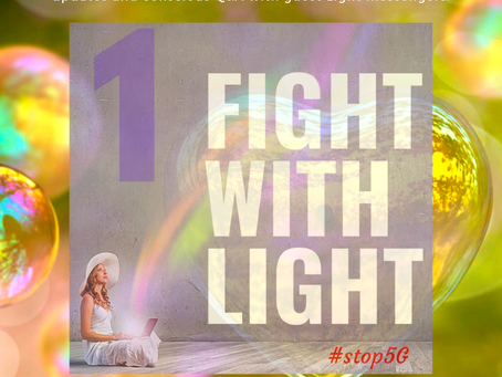 Fight with Light #1: Pia Orleane, Ph.D. and Cullen Baird Smith