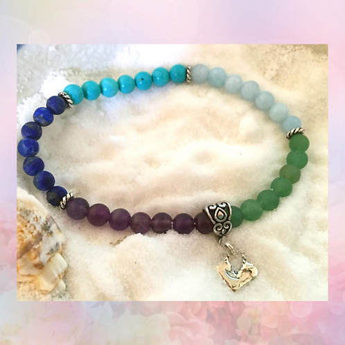 Colors of the Sea Meditation Bracelet