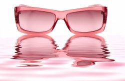 Life is Beautiful with Rose-colored Glasses