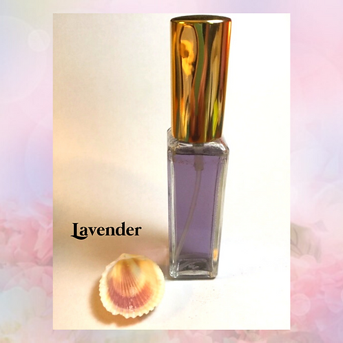 Lavender saltwater spray