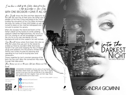Cover Reveal - Into the Darkest Night