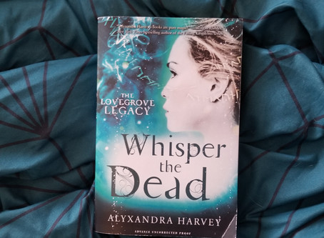 Book Review - Whisper the Dead